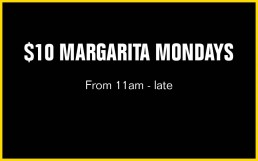 Margarita Mondays | Perth City Bar