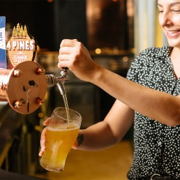 Ivy and Jack tap beer perth city